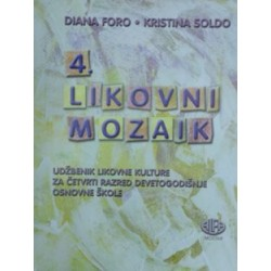 Likovni mozaik 4 udžbenik
