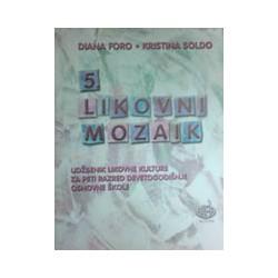 Likovni mozaik 5 udžbenik