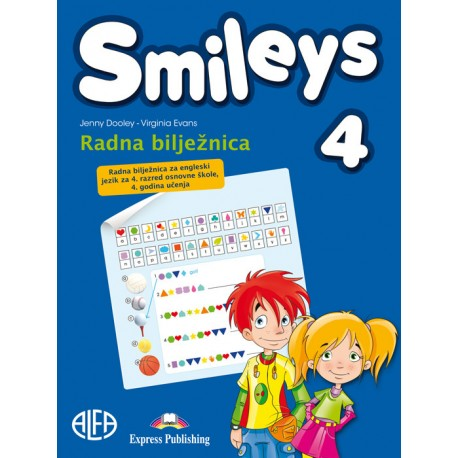Smileys 4 radna bilježnica