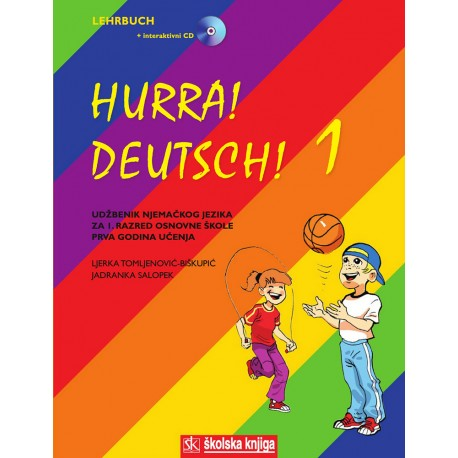 HURRA! DEUTSCH! 1 UDŽBENIK