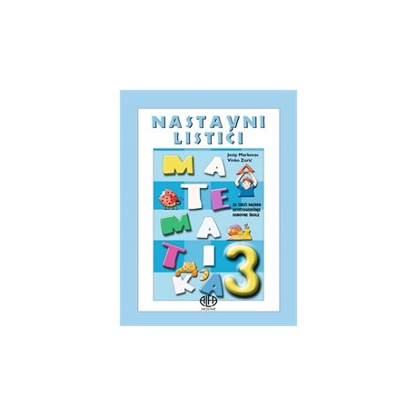 Matematika 3 nastavni listići
