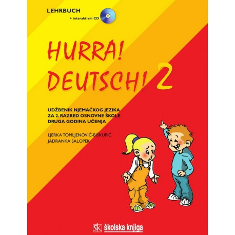 HURRA! DEUTSCH! 2 UDŽBENIK