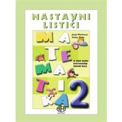 MATEMATIKA 2 - NASTAVNI LISTIĆI
