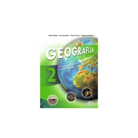 Geografija 2 radna bilježnica