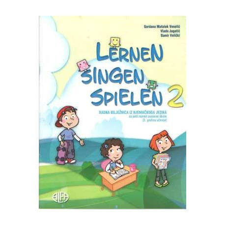 Lernen singen spielen 2 radna bilježnica