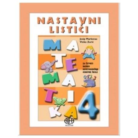 Matematika 4 nastavni listići