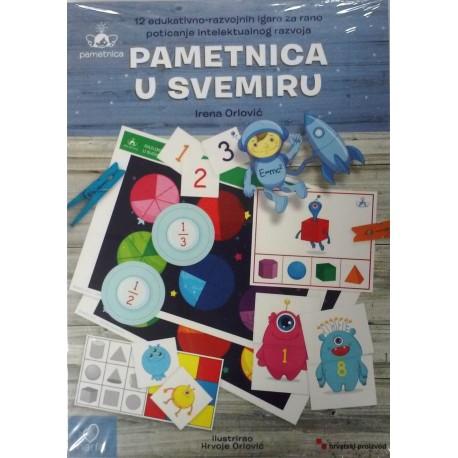 PAMETNICA U SVEMIRU - 12 edukativno-razvojnih igara za rano poticanje intelektualnog razvoja