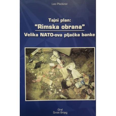 "TAJNI PLAN: ""RIMSKA OBRANA"" - Velika NATO-ova pljačka banke"