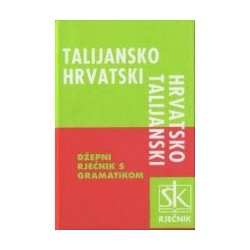 TALIJANSKO-HRVATSKI I HRVATSKO-TALIJANSKI DŽEPNI RJEČNIK S GRAMATIKOM