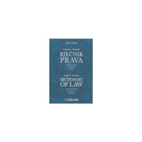 Englesko - hrvatski rječnik prava