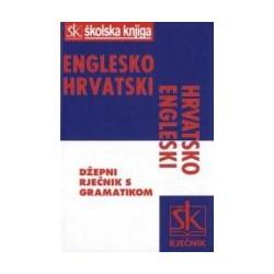 ENGLESKO-HRVATSKI, HRVATSKO-ENGLESKI DŽEPNI RJEČNIK S GRAMATIKOM