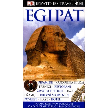 EGIPAT EYEWITNESS TRAVEL GUIDES