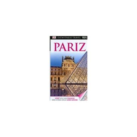 PARIZ EYEWITNESS TRAVEL GUIDES