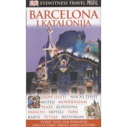 BARCELONA I KATALONIJA EYEWITNESS TRAVEL GUIDES