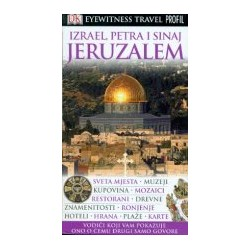 JERUZALEM, IZRAEL, PETRA I SINAJ EYEWITNESS TRAVEL GUIDES