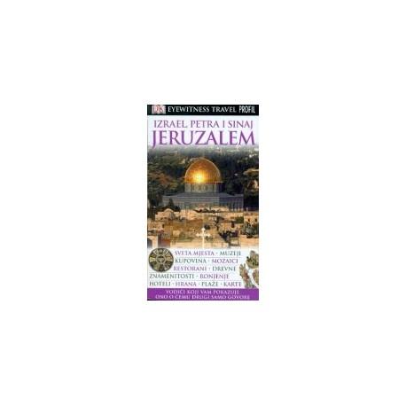 JERUZALEM, IZRAEL, PETRA I SINAJ EYEWITNESS TRAVEL GUIDES