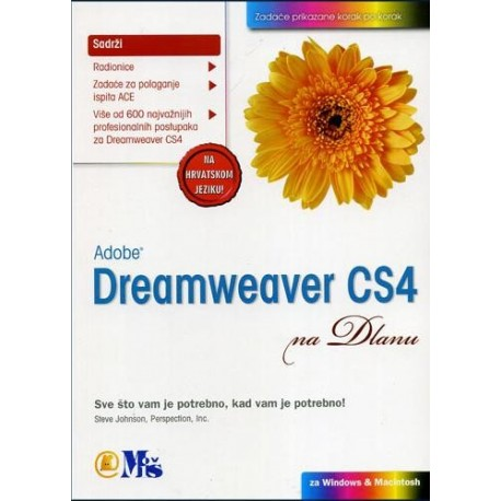ADOBE DREAMWEAWER CS4 - na dlanu