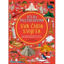 ATLAS PUSTOLOVINA - SVA ČUDA SVIJETA