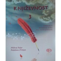 Književnost 3 udžbenik iz hrvatskog jezika